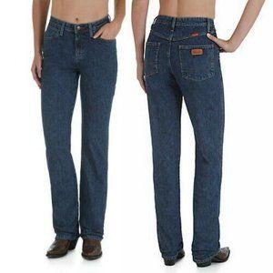 Wrangler 12 Cowboy Cut Natural Rise Denim Jeans